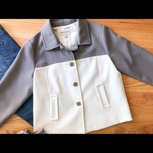 Banana Republic | Colorblock Crop Jacket